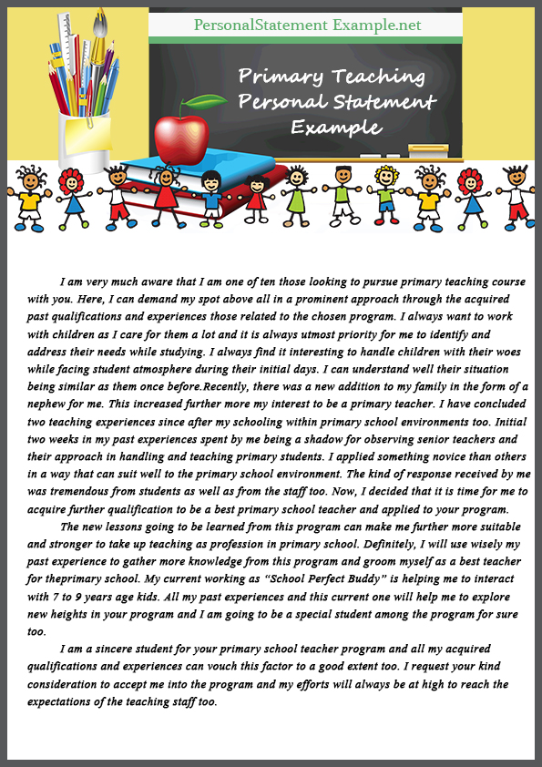 excellent personal statements for teaching The teaching statement is very easy to write badly  what is evidence of teaching excellence — 52 comments kp on september 23, 2011 at 6:39 am said:.
