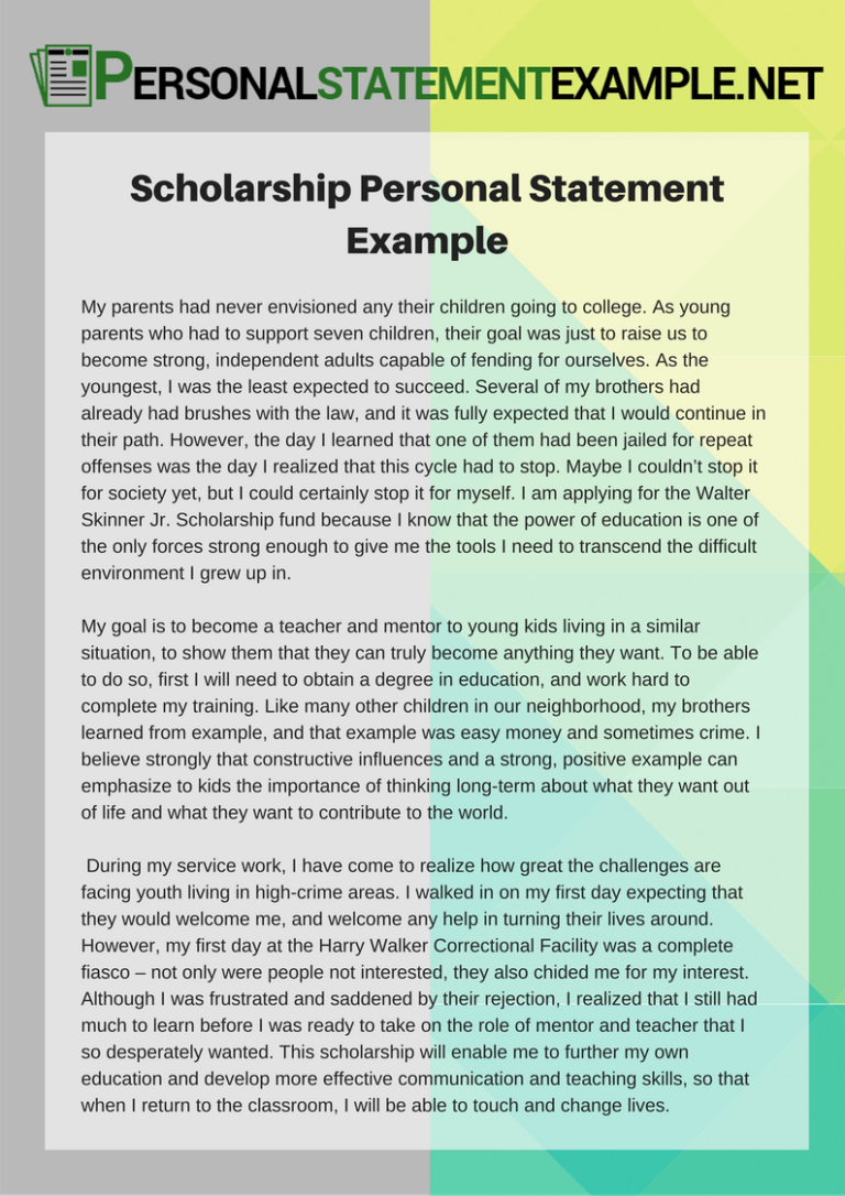 scholarship personal essay help Scholarship essay help: writing service if you have not yet started a draft of your scholarship essay, our full writing service is perfect for you our writing services will meet the needs of any student, no matter what academic level they are, what their needs are for their essay, or what type of scholarship they are seeking.