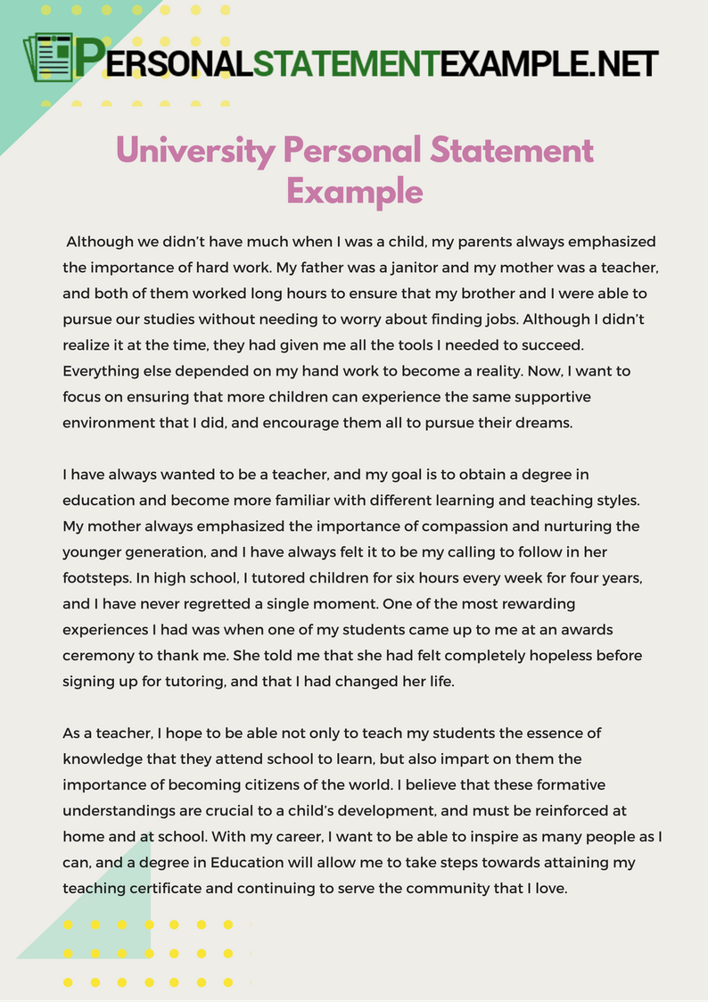 a personal statement for the university of delaware Personal statement personal statement builder personal statements:  retrieved from  .