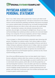 useful-physician-assistant-personal-statement-example