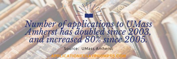 umass amherst admission statistics
