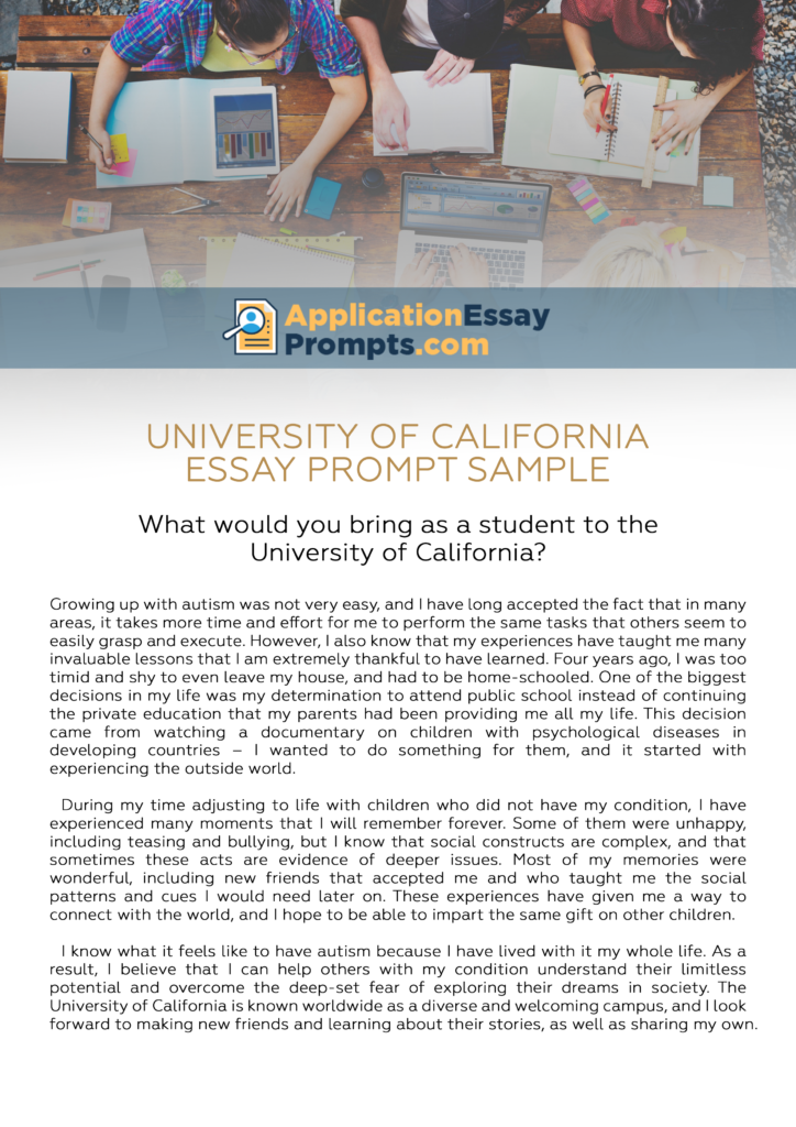 how to answer university of california essay promptspersonal  an error occurred